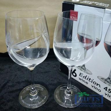 Ly uống rượu vang pha lê cao cấp – Quà Tặng của PTSC