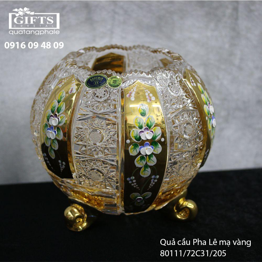 Quả cầu pha lê mạ vàng 80111-72C31-205