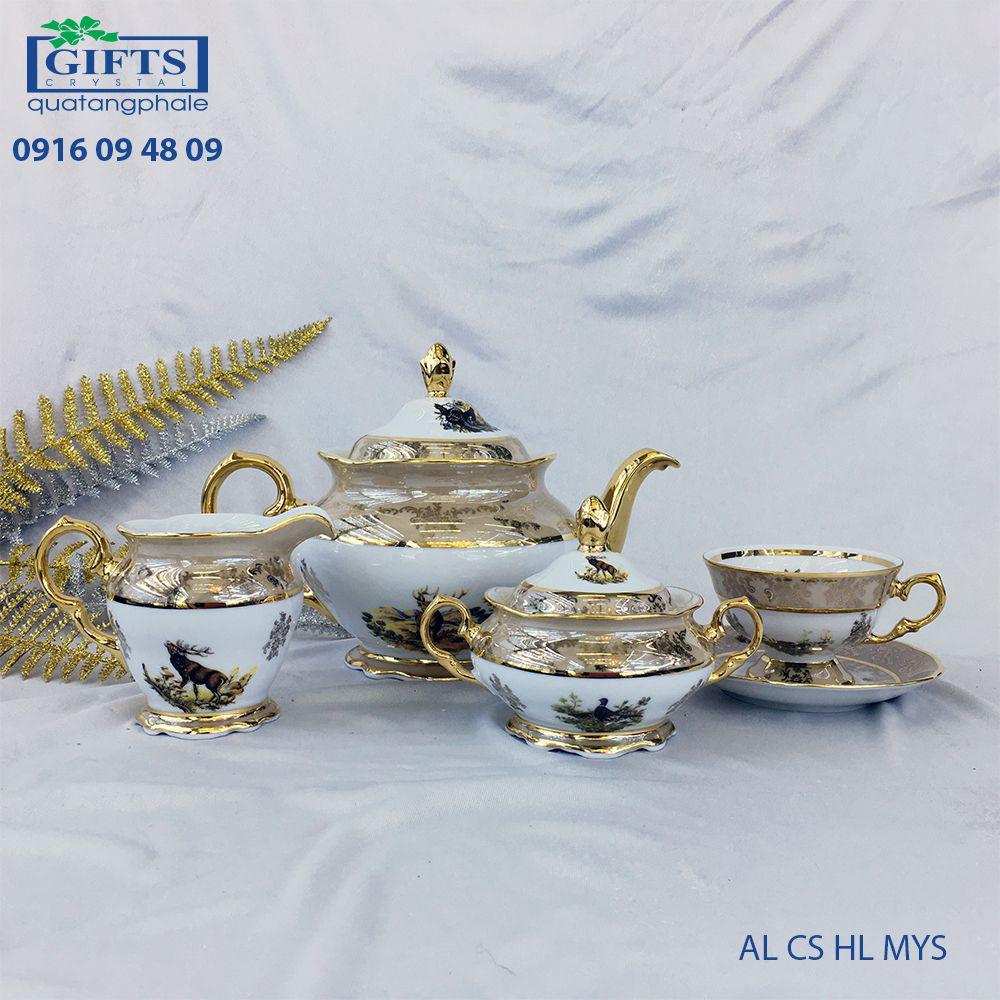 Bộ ấm trà sứ AL-CS-HL-MYS
