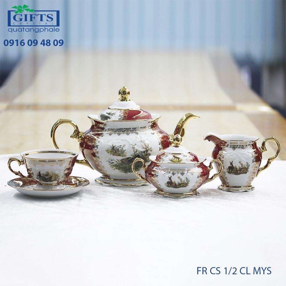 Bộ ấm trà sứ FR-CS-1.2-CL-MYS