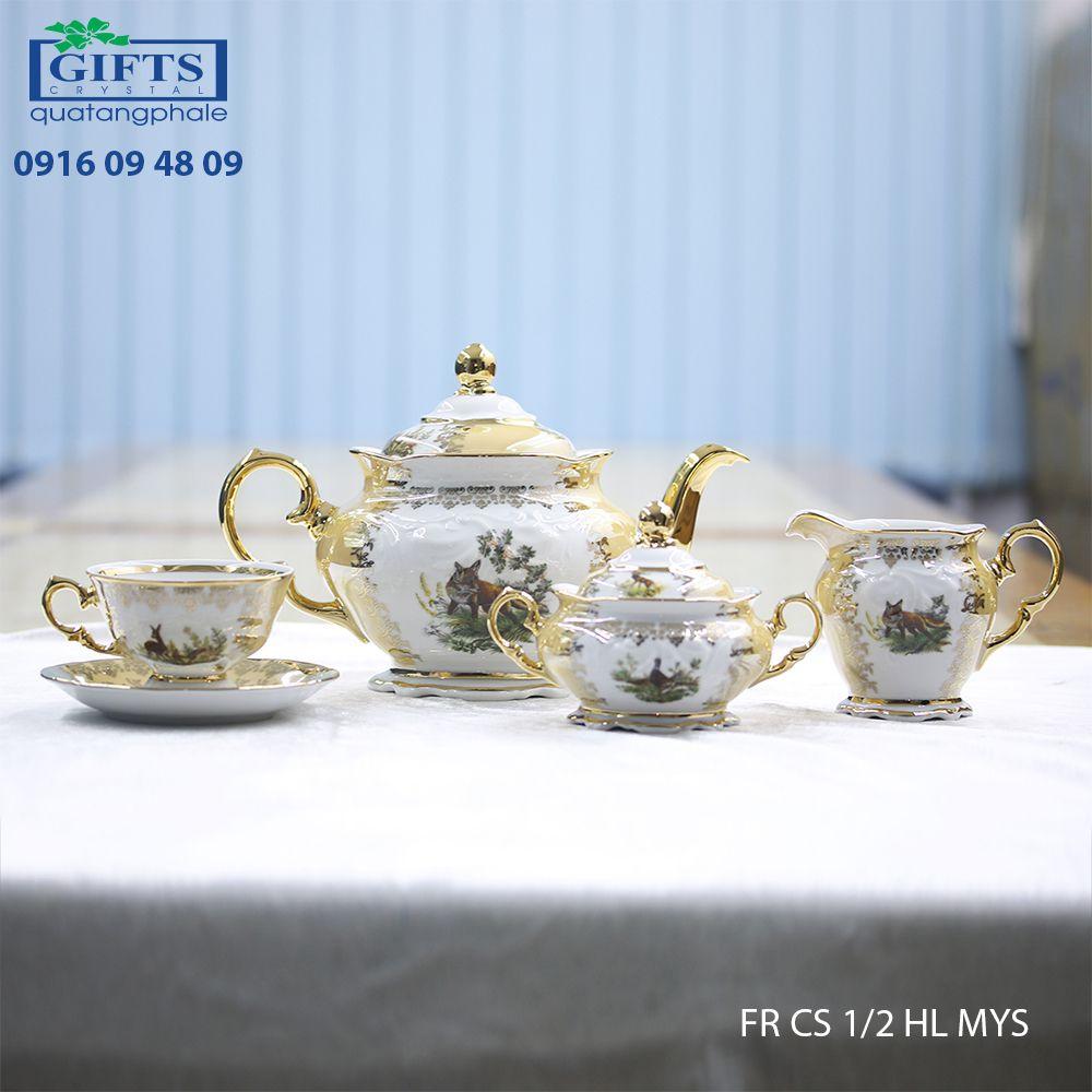 Bộ ấm trà sứ FR-CS-1.2-HL-MYS