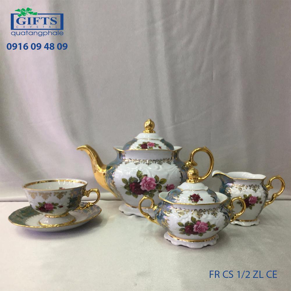 Bộ ấm trà sứ FR-CS-1.2-ZL-CE