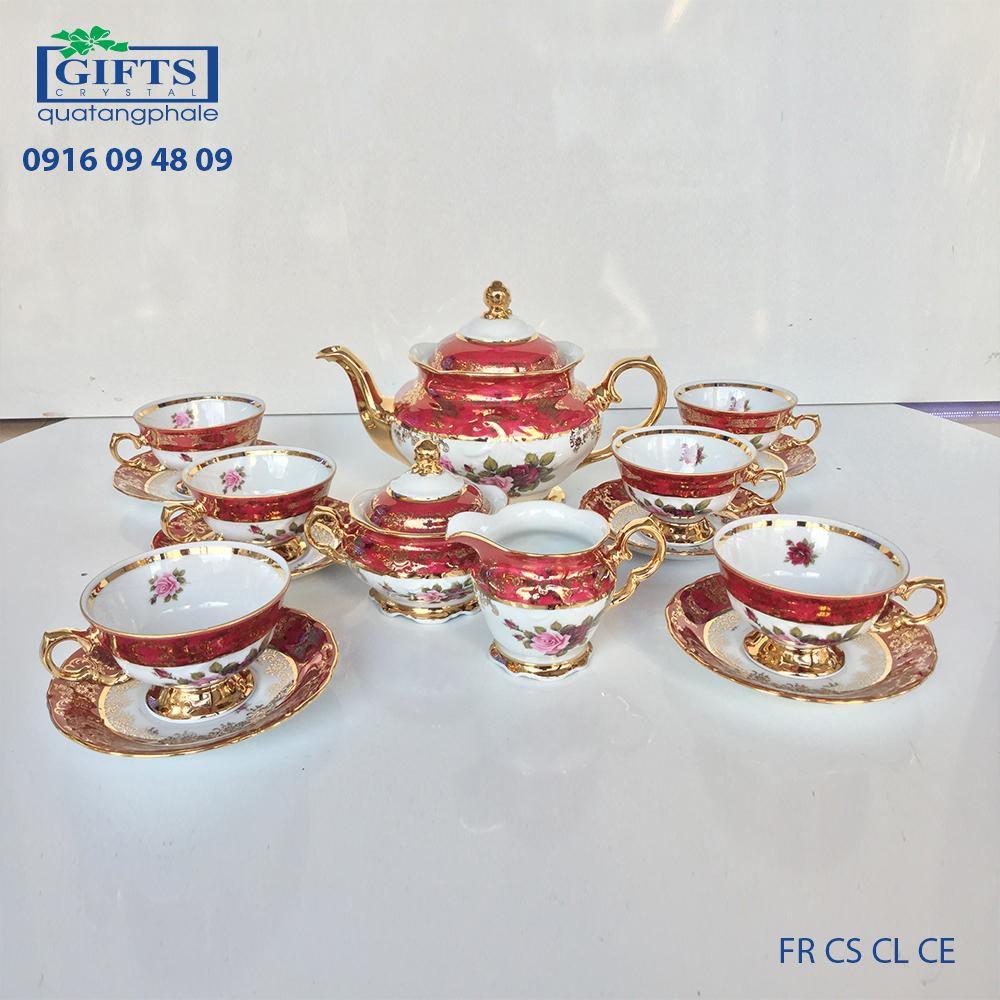 Bộ ấm trà sứ FR-CS-CL-CE