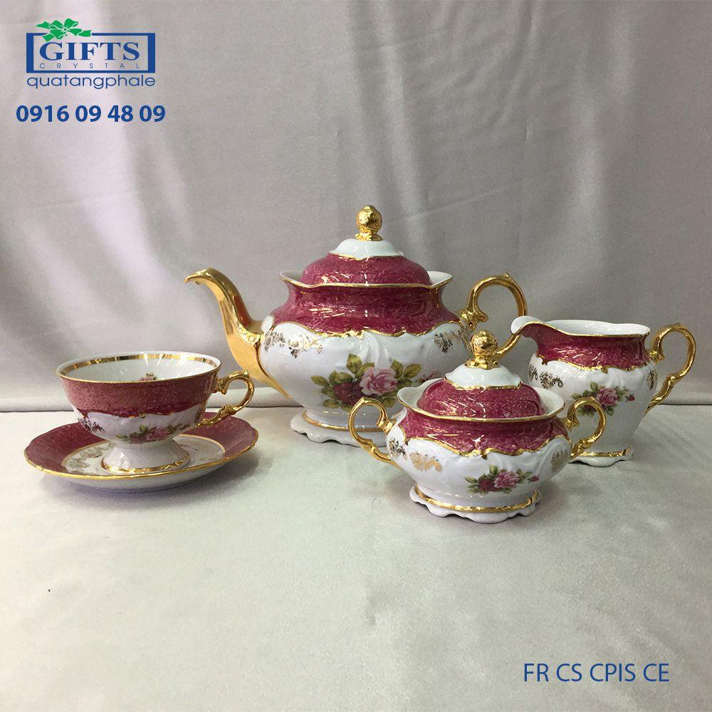 Bộ ấm trà sứ FR-CS-CPIS-CE