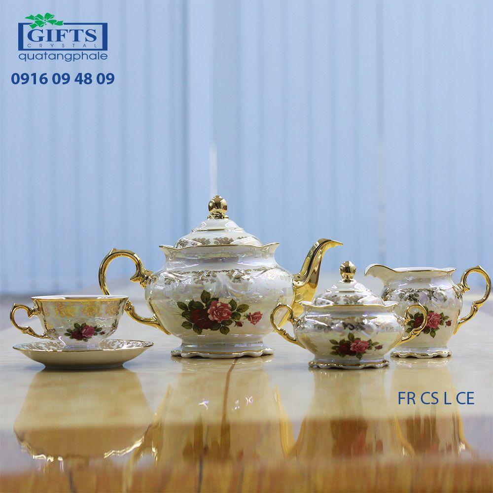 Bộ ấm trà sứ FR-CS-L-CE
