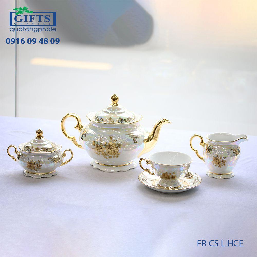 Bộ ấm trà sứ FR-CS-L-HCE
