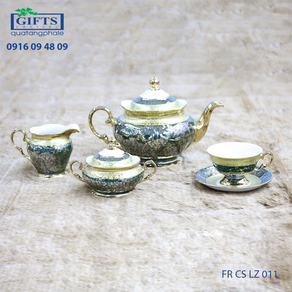 Bộ ấm trà sứ FR-CS-LZ-011