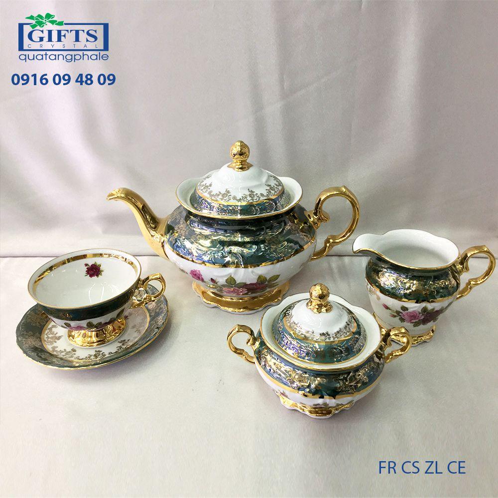 Bộ ấm trà sứ FR-CS-ZL-CE