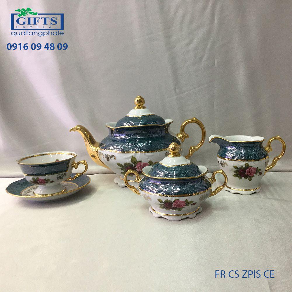 Bộ ấm trà sứ FR-CS-ZPIS-CE