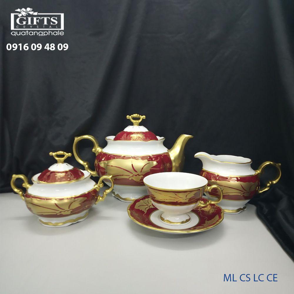 Bộ ấm trà sứ ML-CS-LC-CE