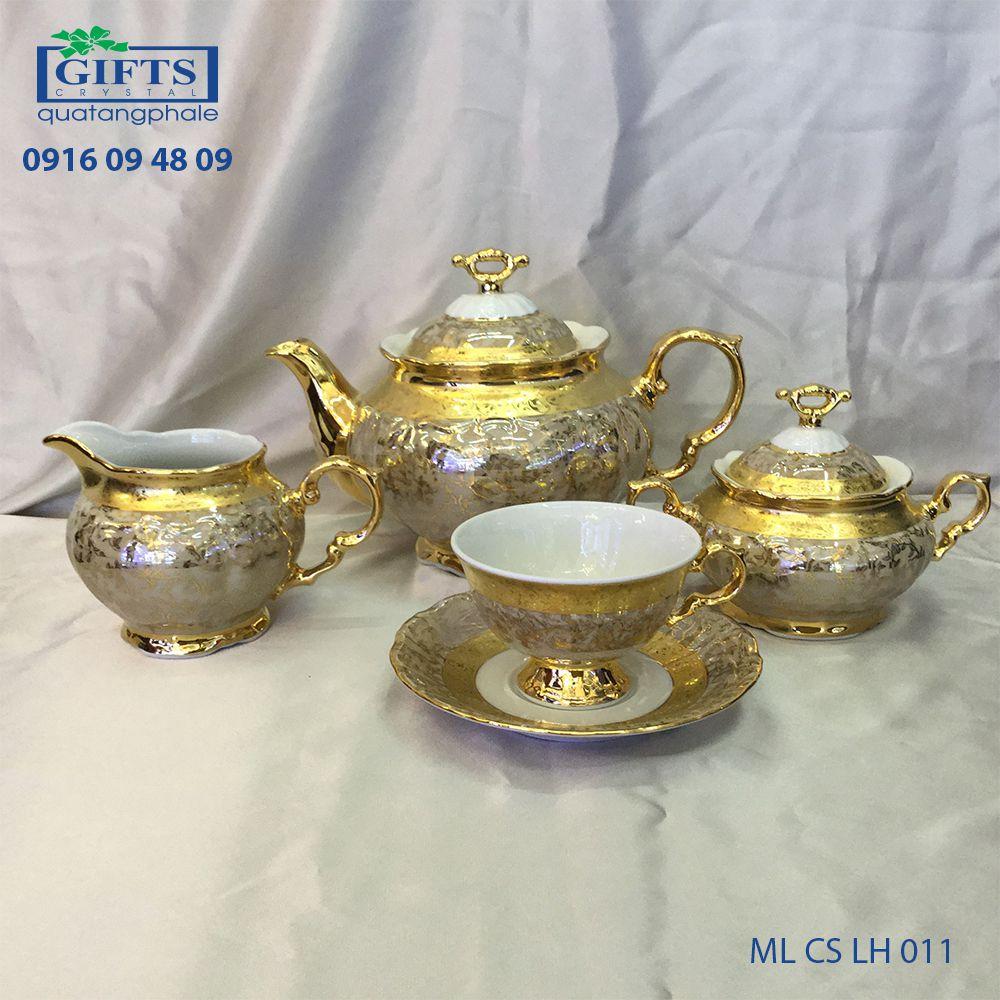 Bộ ấm trà sứ ML-CS-LH-011