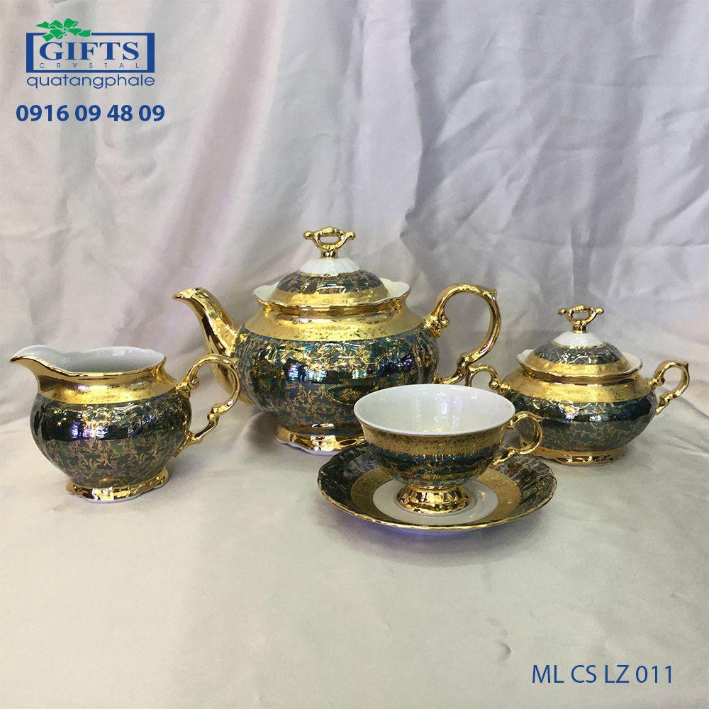 Bộ ấm trà sứ ML-CS-LZ-011