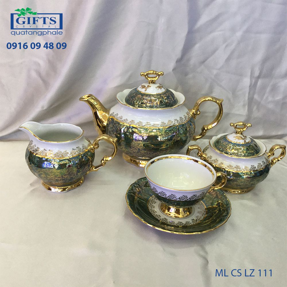 Bộ ấm trà sứ ML-CS-LZ-111
