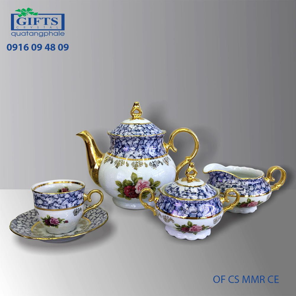Bộ ấm trà sứ OF CS MMR CE
