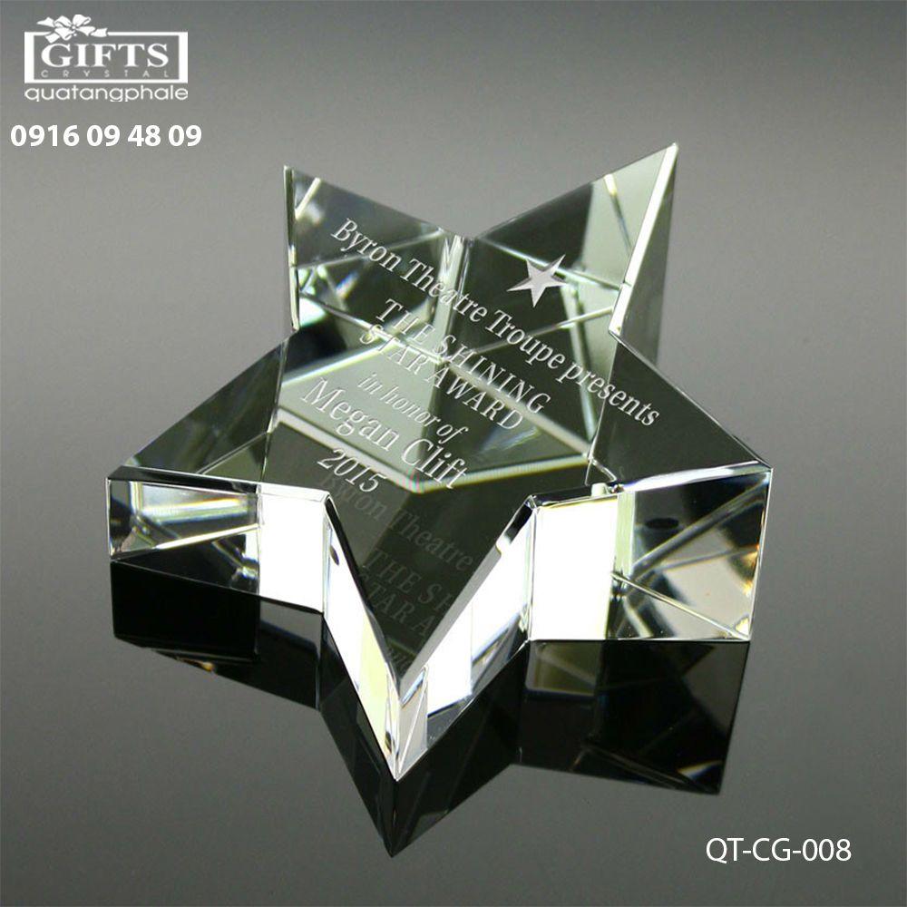 Chặn giấy pha lê QT-CG-008
