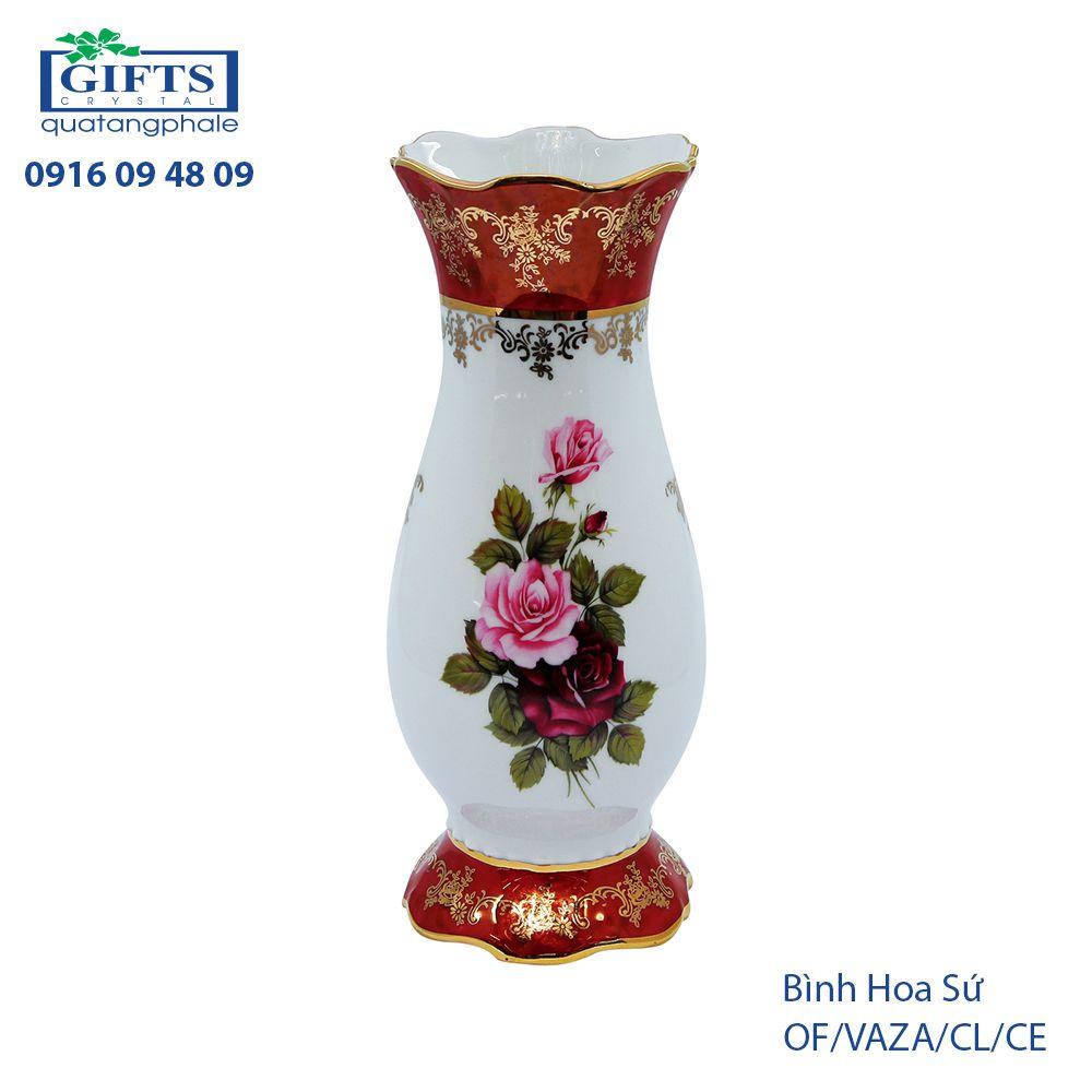 Bình hoa sứ OF-VAZA-CL-CE