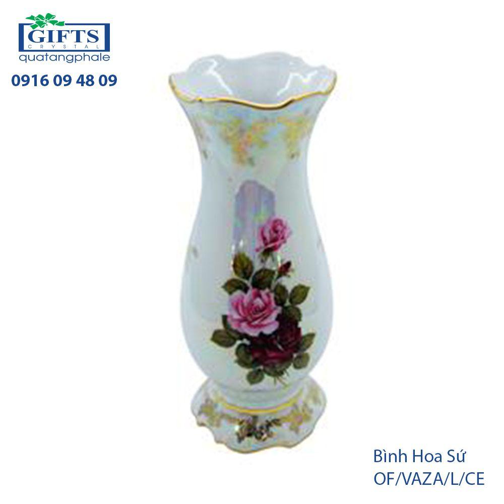Bình hoa sứ OF-VAZA-L-CE