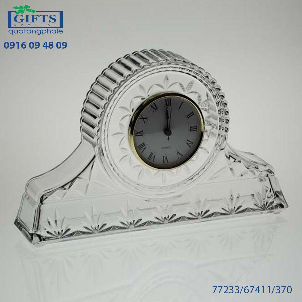 Đồng hồ pha lê để bàn 77233-67411-370