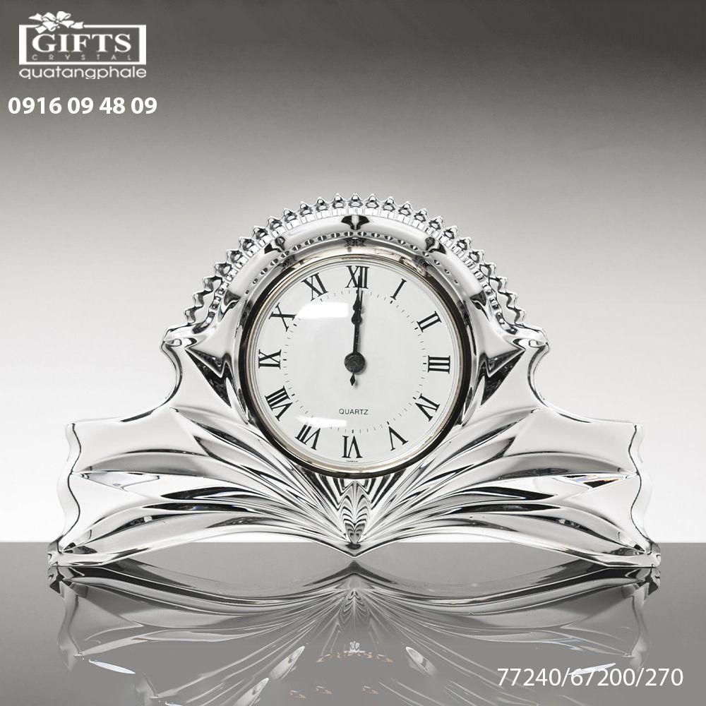 Đồng hồ pha lê để bàn 77240-67200-270