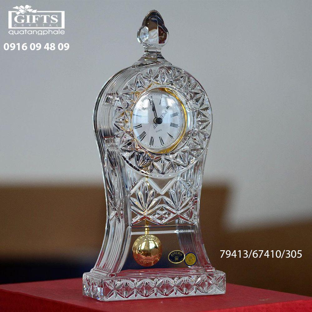 Đồng hồ pha lê để bàn 79413-67410-305