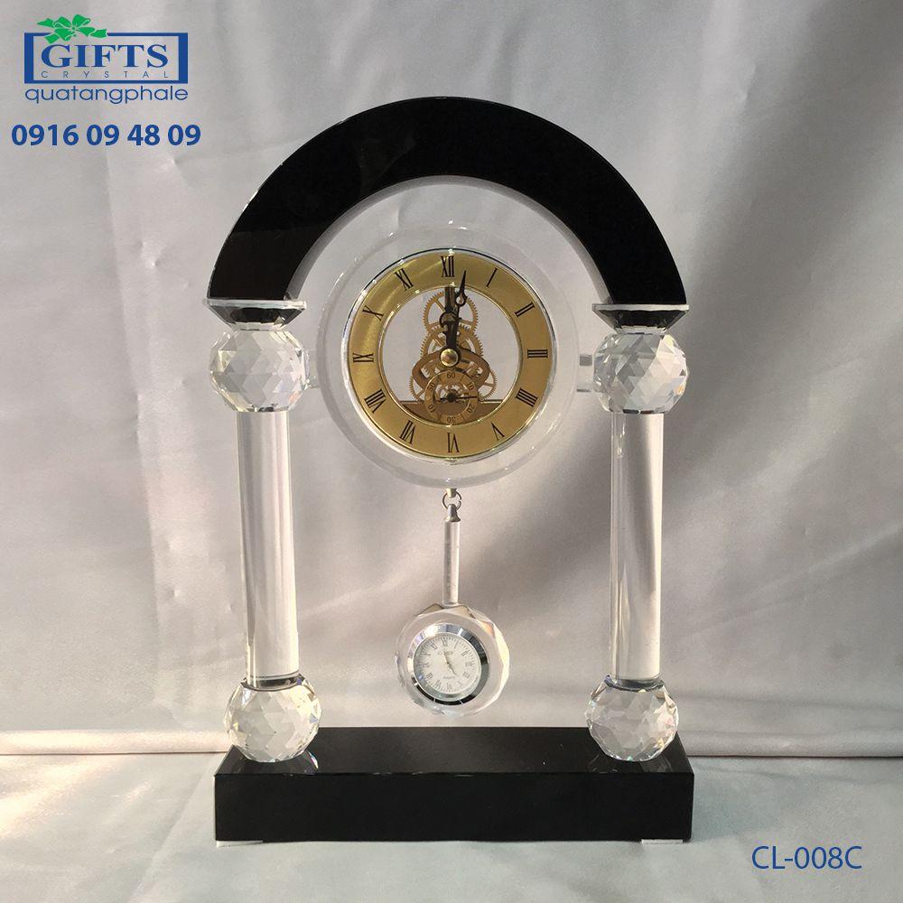Đồng hồ pha lê để bàn CL-008C
