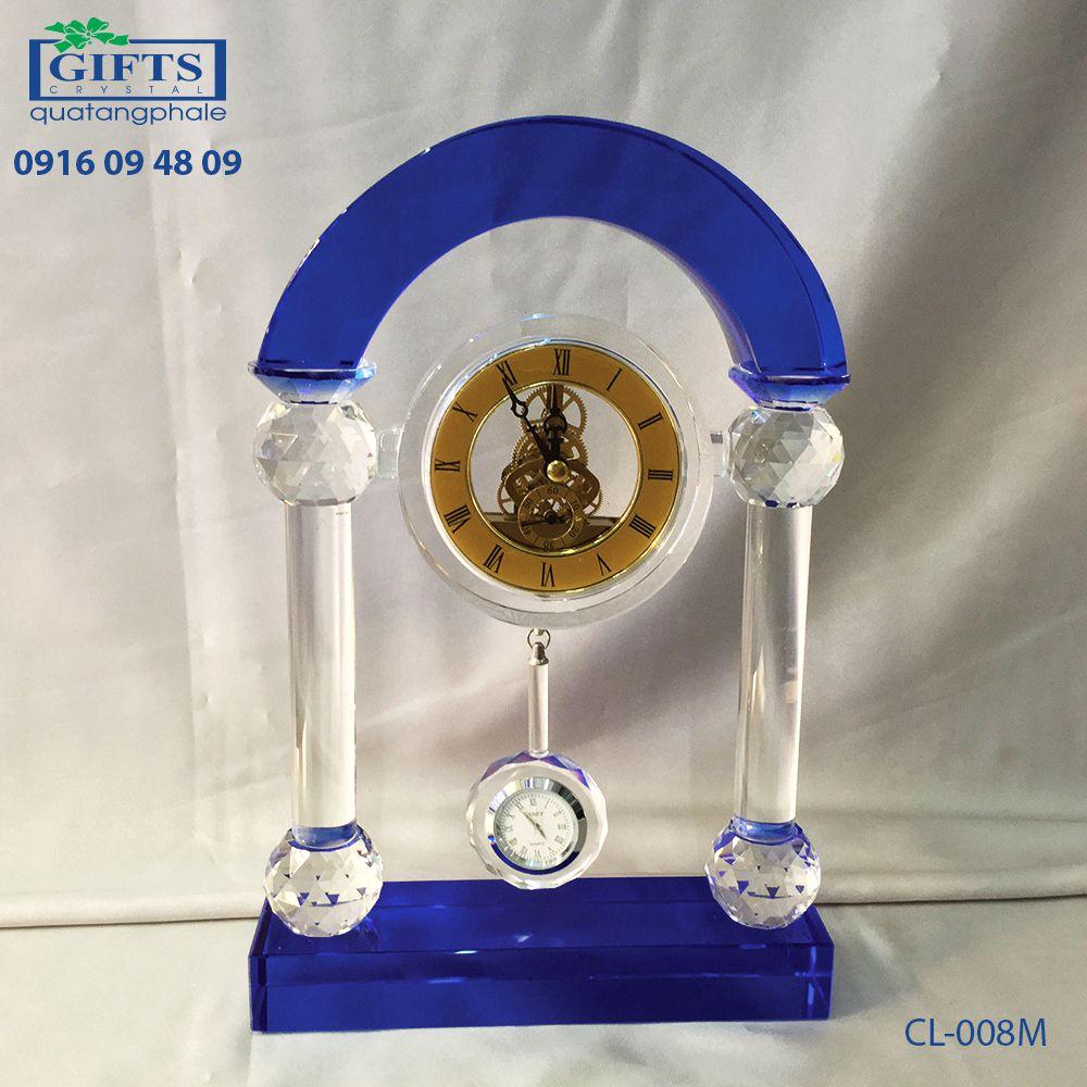 Đồng hồ pha lê để bàn CL-008M