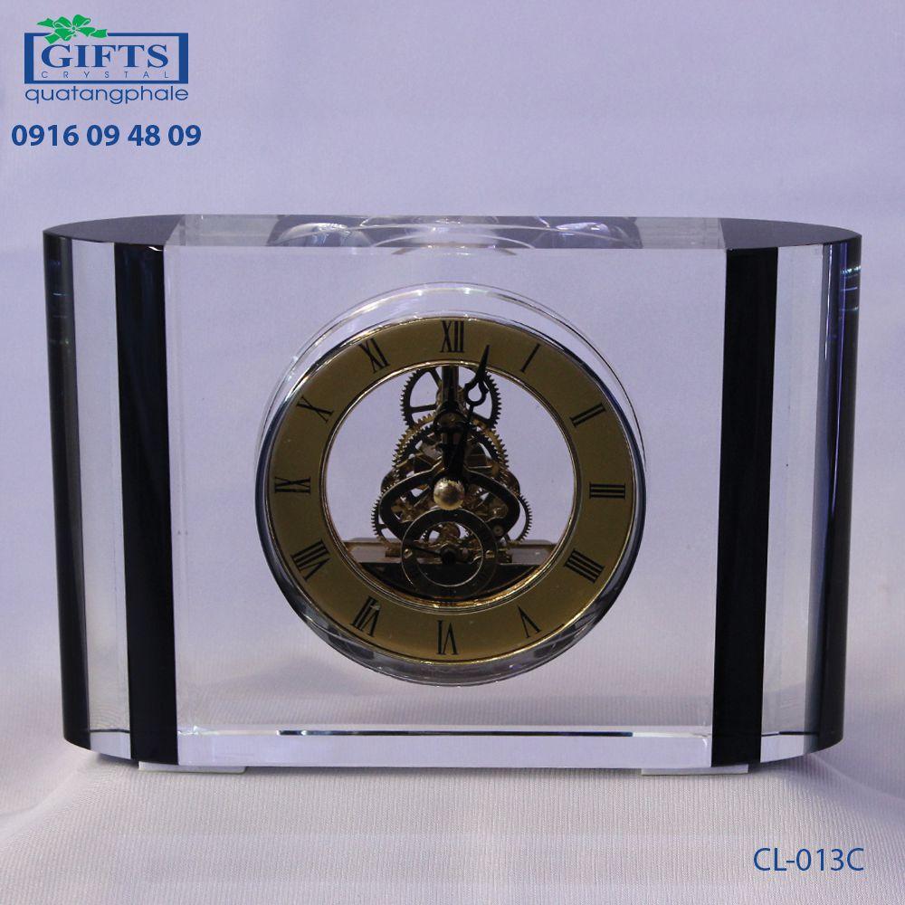 Đồng hồ pha lê để bàn CL-013C