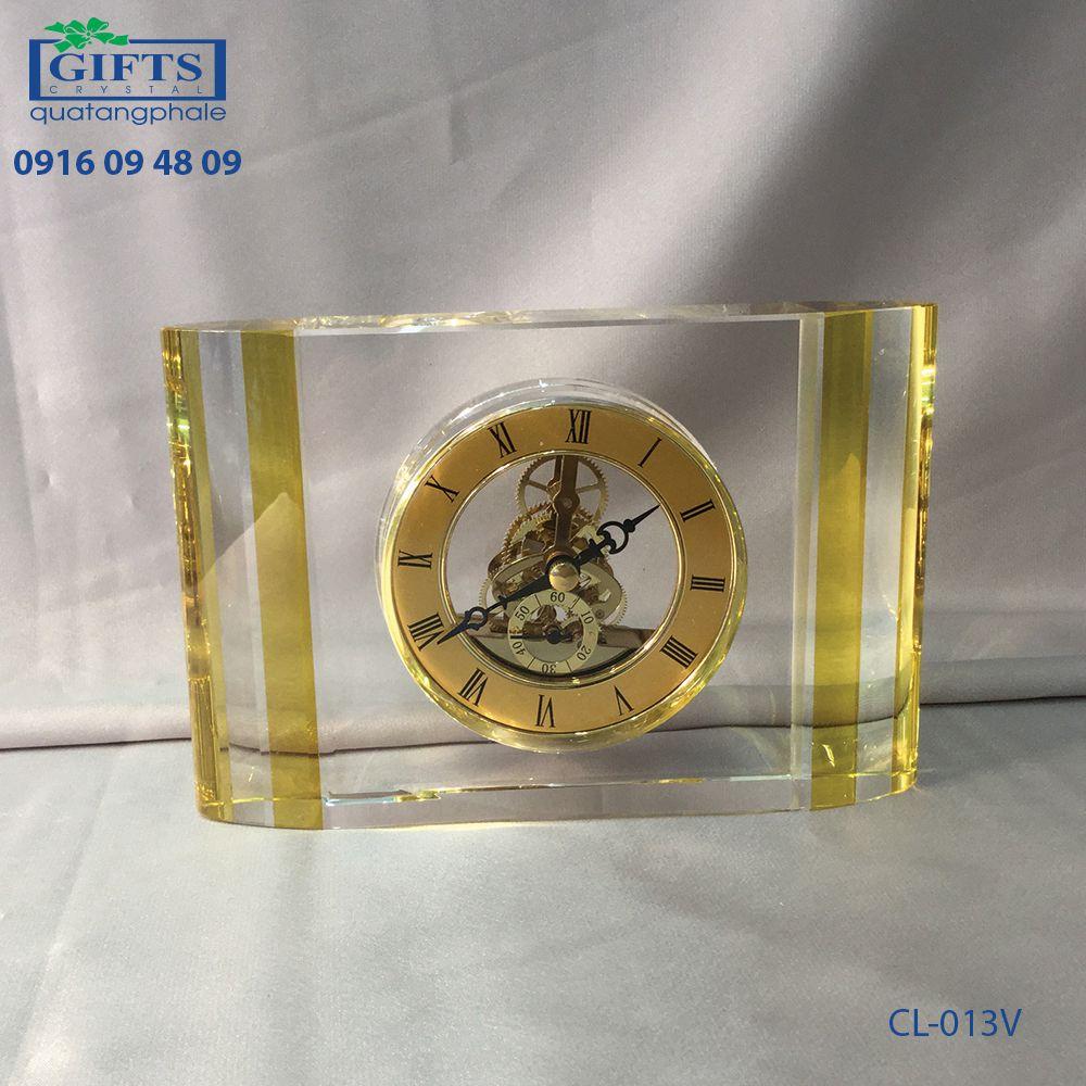 Đồng hồ pha lê để bàn CL-013V