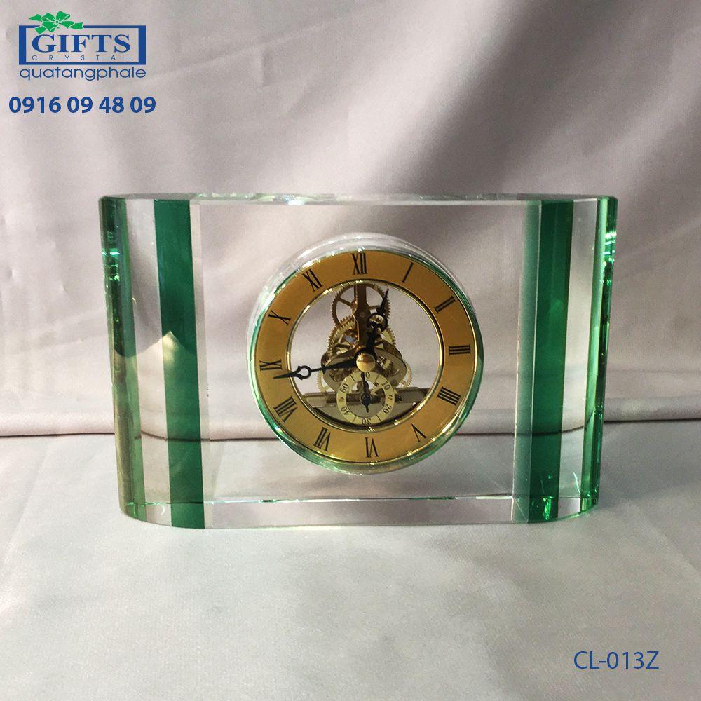 Đồng hồ pha lê để bàn CL-013Z