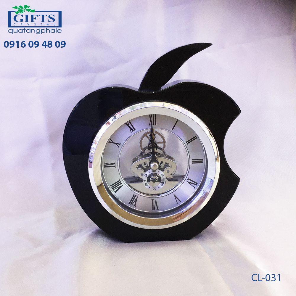 Đồng hồ pha lê để bàn CL-034