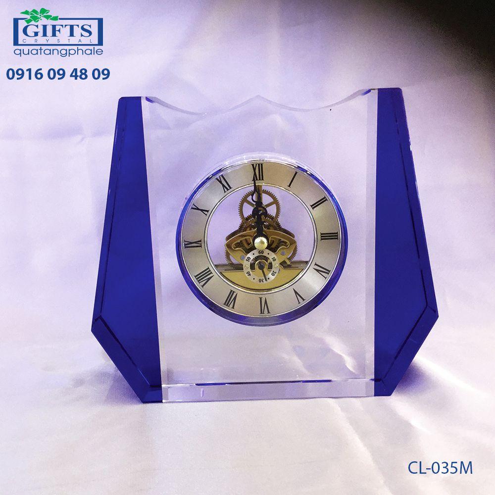 Đồng hồ pha lê để bàn CL-035M