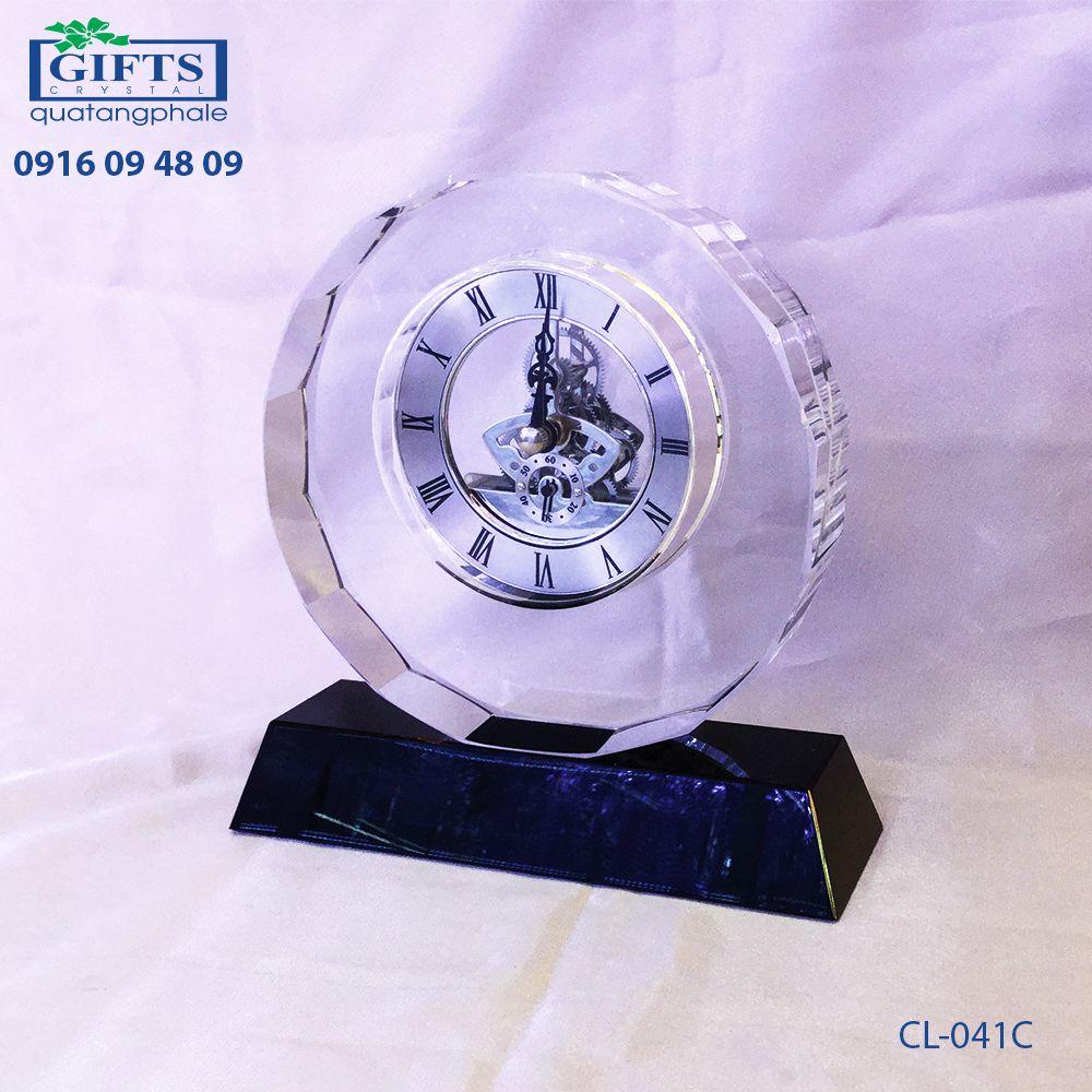 Đồng hồ pha lê để bàn CL-041C