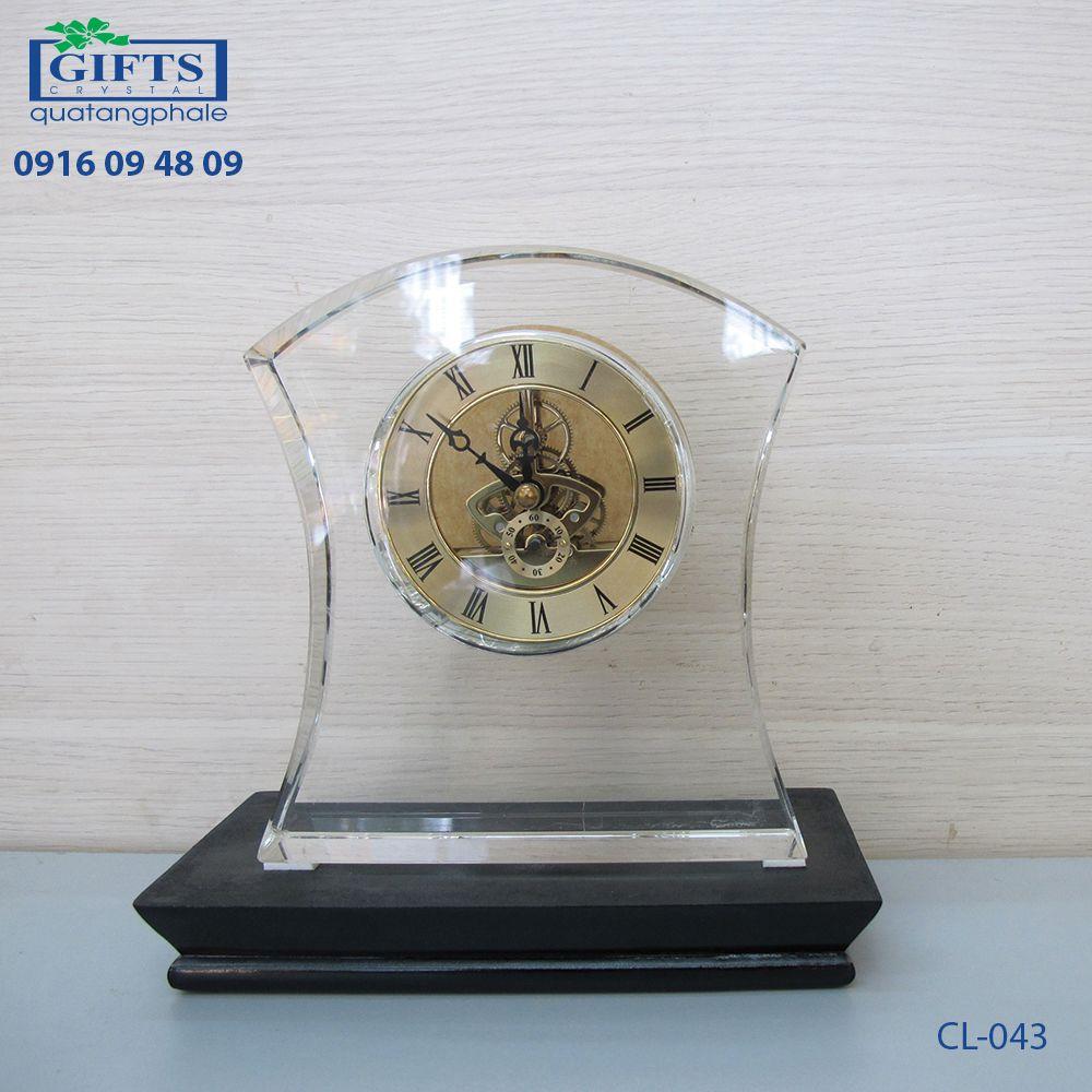 Đồng hồ pha lê để bàn CL-043