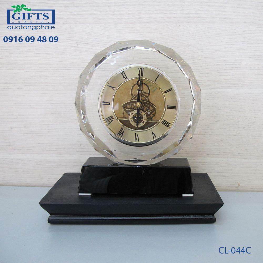 Đồng hồ pha lê để bàn CL-044C