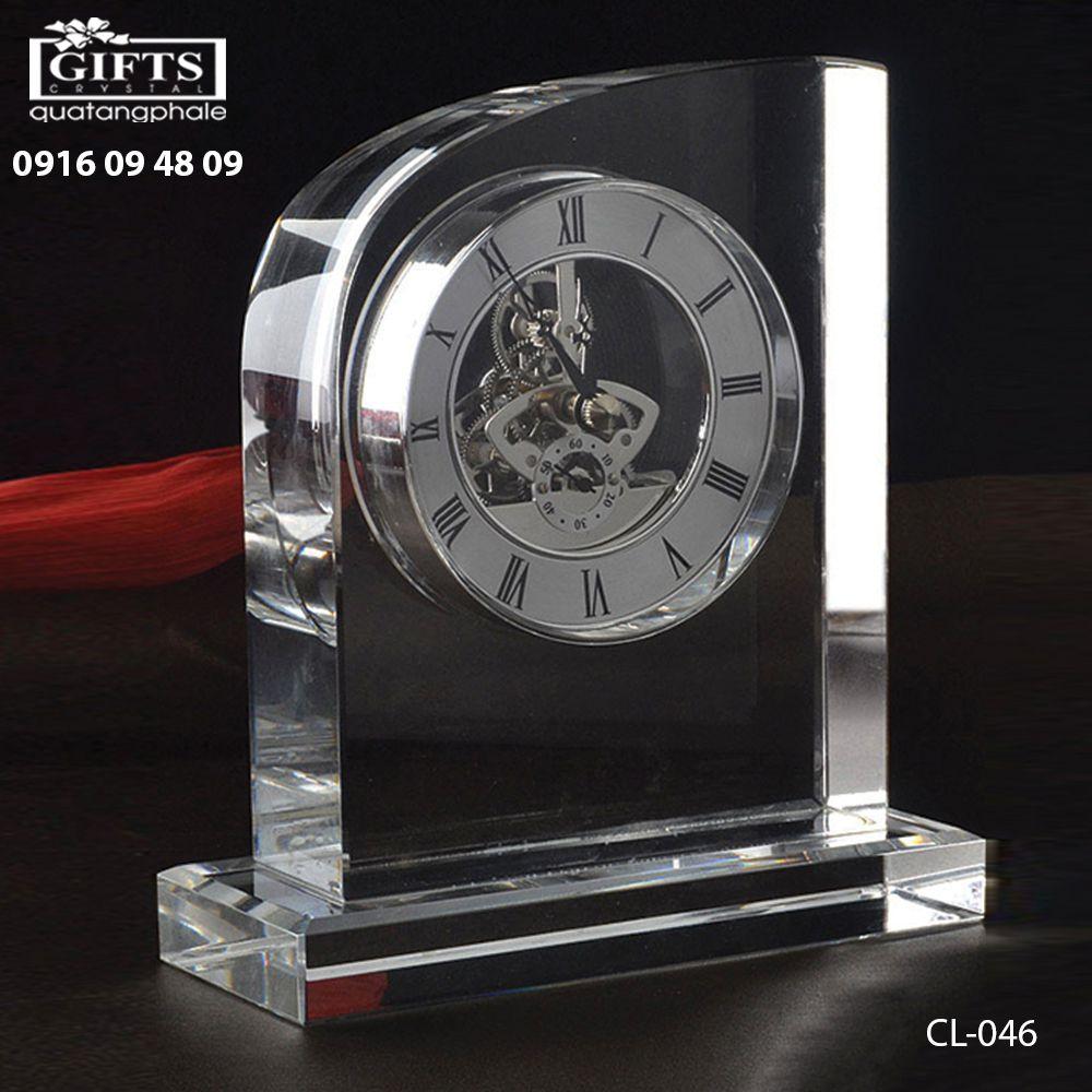 Đồng hồ pha lê để bàn CL-046