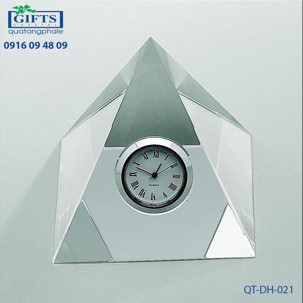 Đồng hồ pha lê để bàn QT-DH-021