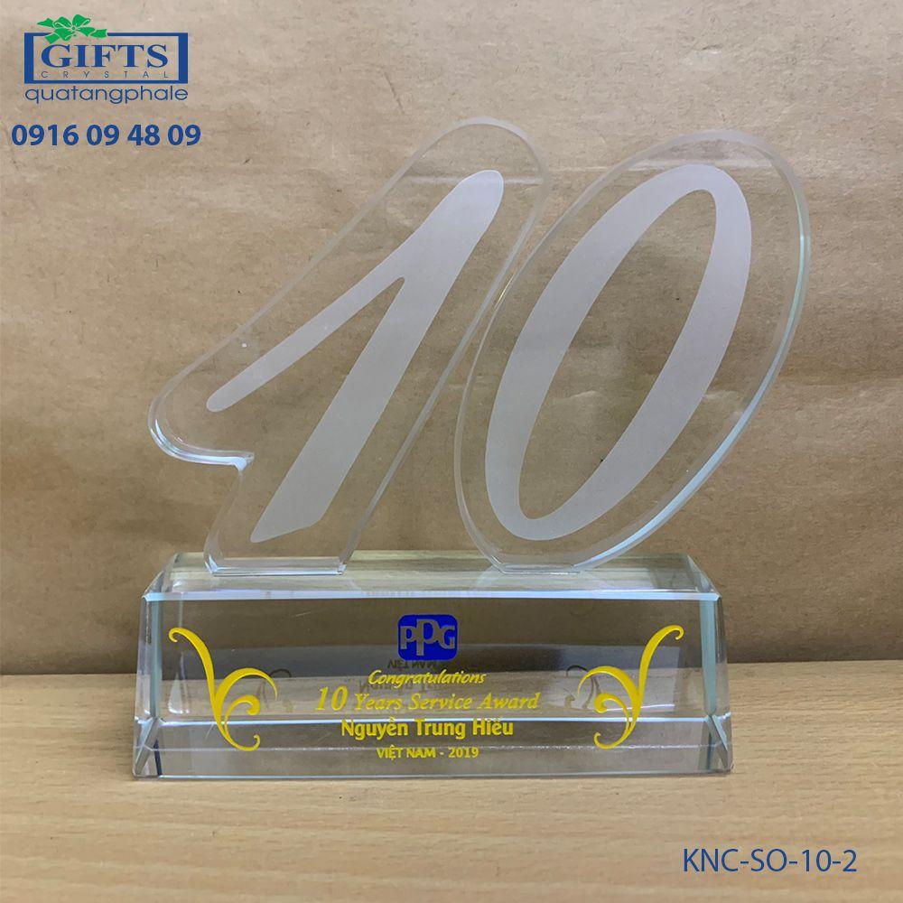 Kỷ niệm chương số KNC-SO-10-2