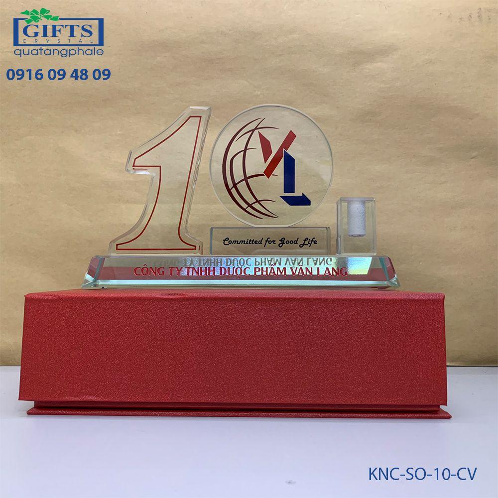 Kỷ niệm chương số KNC-SO-10-CV