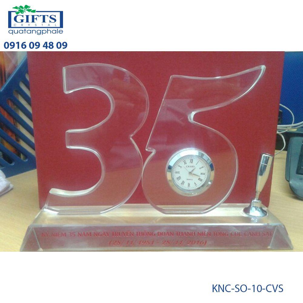Kỷ niệm chương số KNC-SO-10-CVS