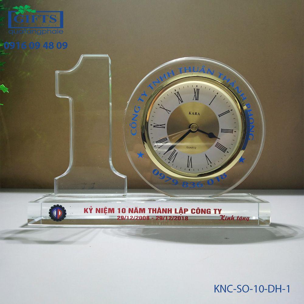Kỷ niệm chương số KNC-SO-10-DH-1