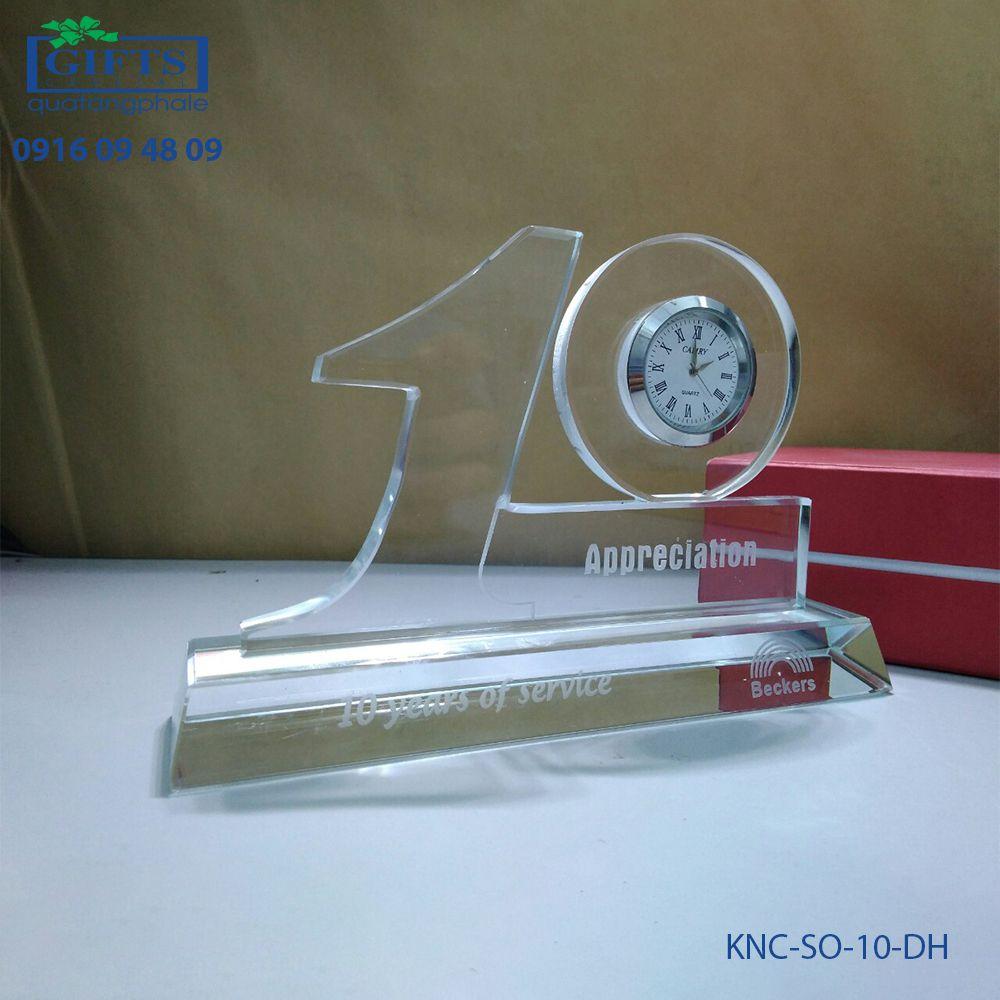 Kỷ niệm chương số KNC-SO-10-DH