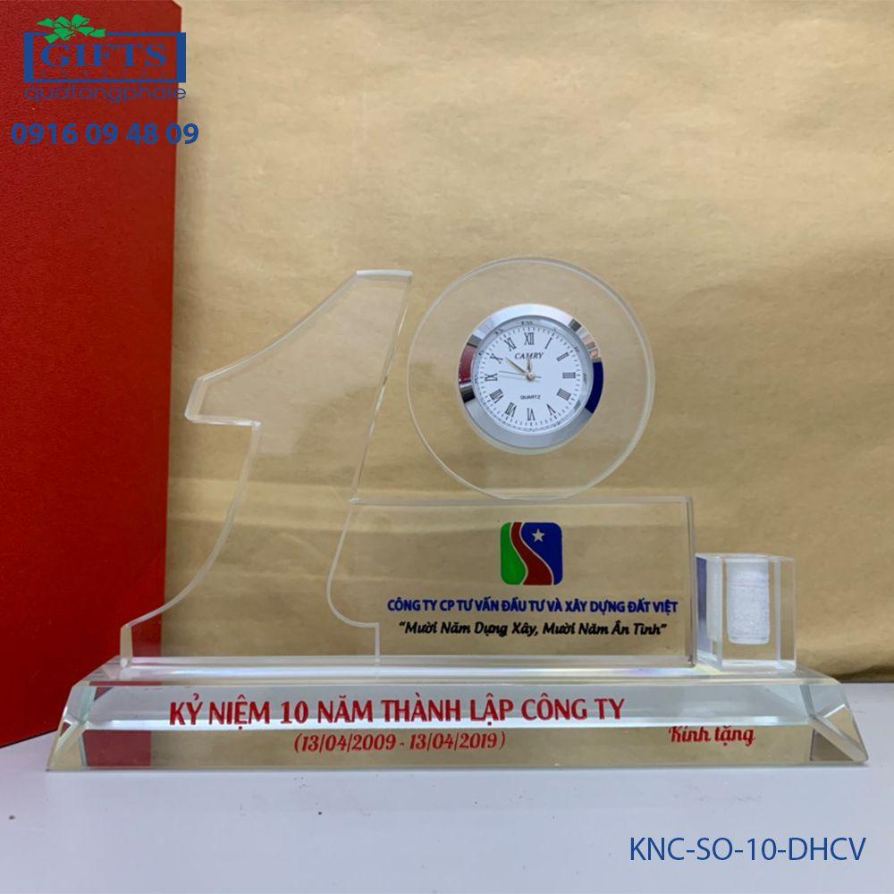 Kỷ niệm chương số KNC-SO-10-DHCV