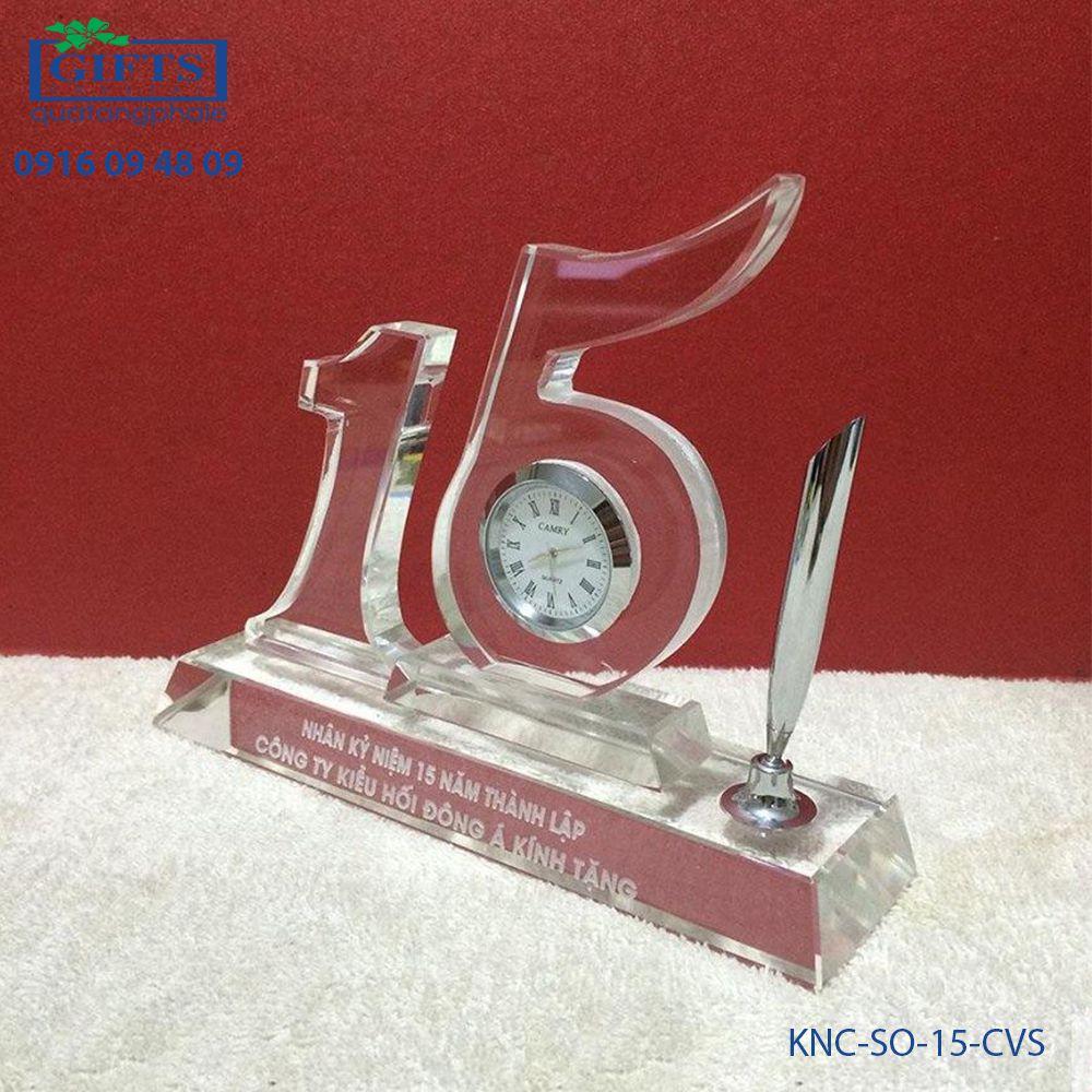 Kỷ niệm chương số KNC-SO-15-CVS