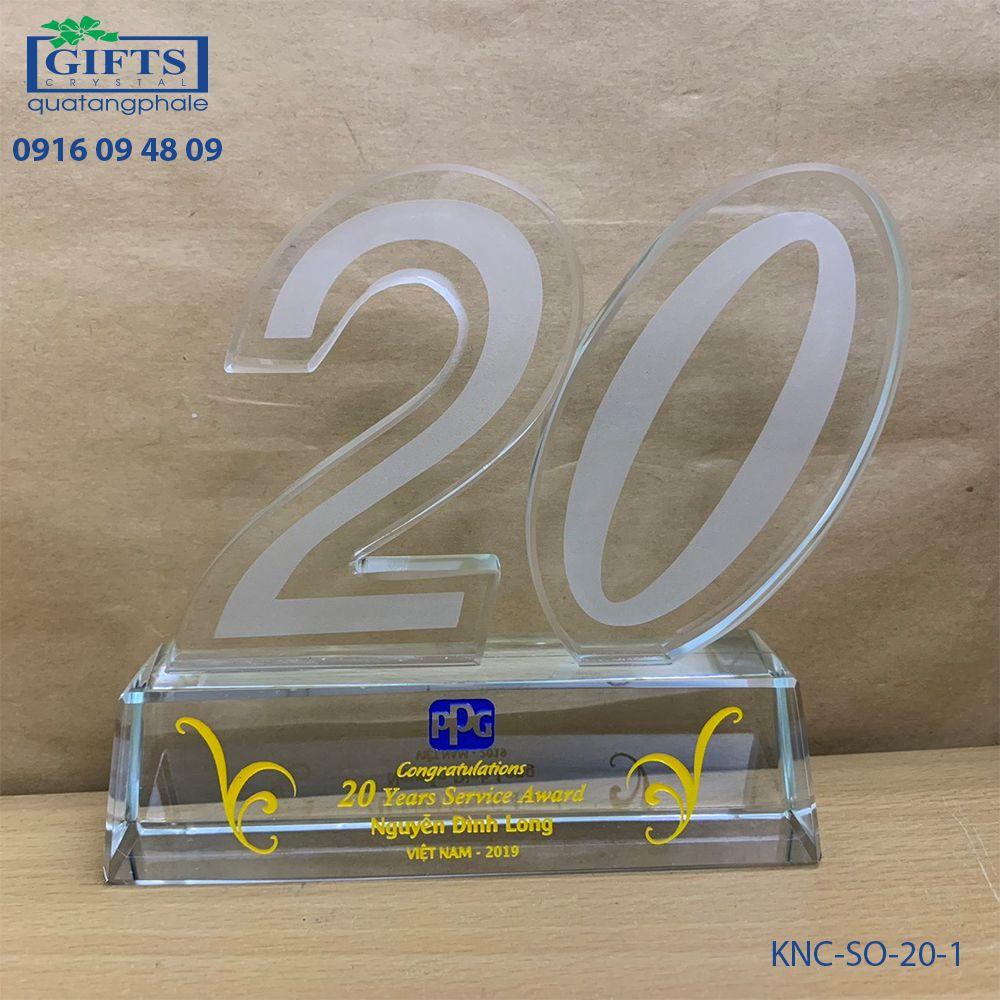 Kỷ niệm chương số KNC-SO-20-1