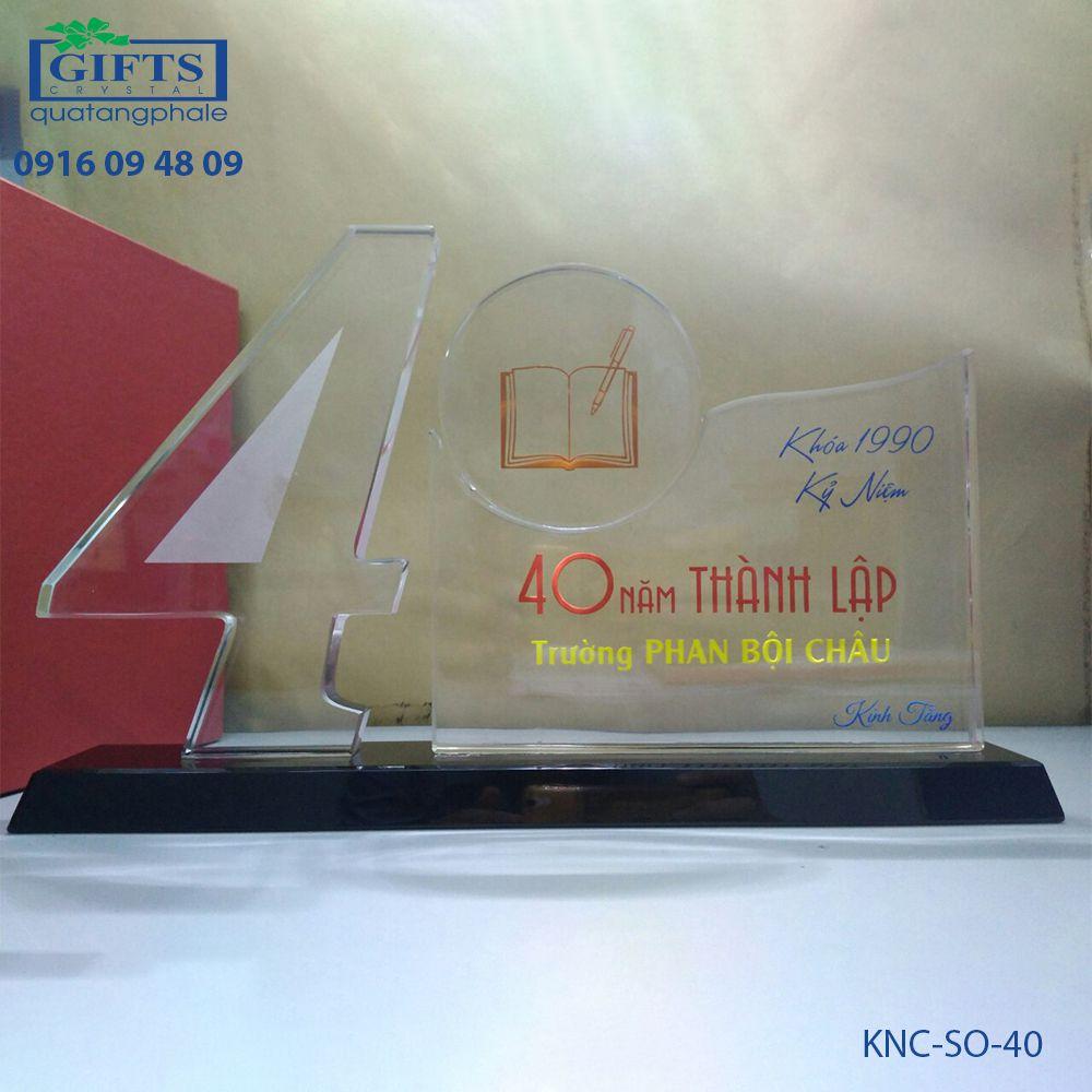 Kỷ niệm chương số KNC-SO-40