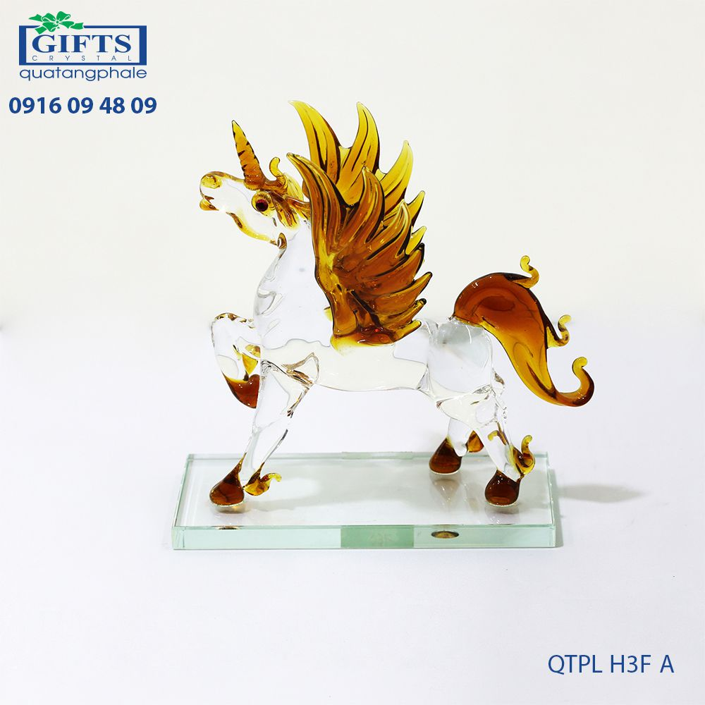 Ngựa phong thủy QTPL-H3F-A