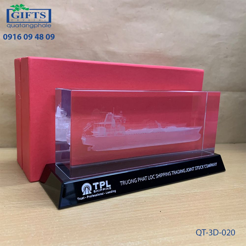 Pha lê 3d QT-3D-020