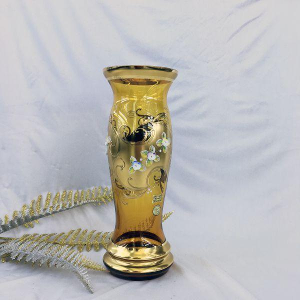 Bình Hoa Thủy Tinh Mạ Vàng 81269-31-25583-85
