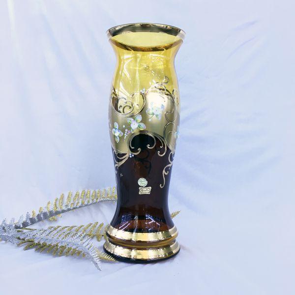 Bình Hoa Thủy Tinh Mạ Vàng 81269-41-14048-85