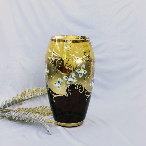 Bình Hoa Thủy Tinh Mạ Vàng 8215-29-14048-85